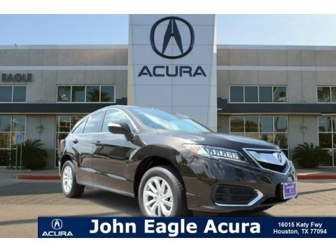 Crystal Black Pearl Acura RDX FWD.  Click to enlarge.