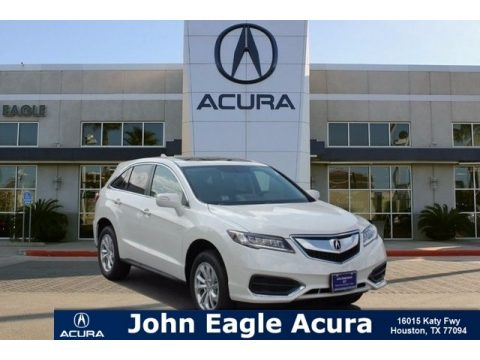 White Diamond Pearl Acura RDX FWD.  Click to enlarge.