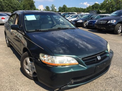 Dark Emerald Pearl Honda Accord EX Sedan.  Click to enlarge.
