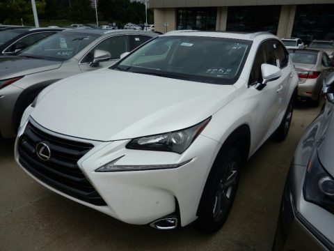 Eminent White Pearl Lexus NX 200t AWD.  Click to enlarge.