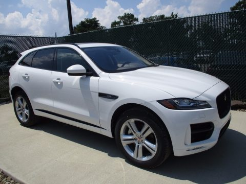 Fuji White Jaguar F-PACE 35t AWD R-Sport.  Click to enlarge.
