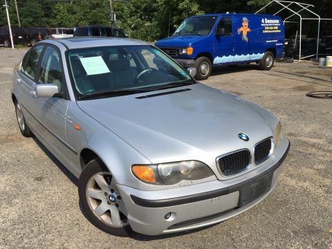 Titanium Silver Metallic BMW 3 Series 325xi Sedan.  Click to enlarge.