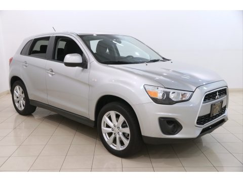 Quick Silver Metallic Mitsubishi Outlander Sport ES.  Click to enlarge.