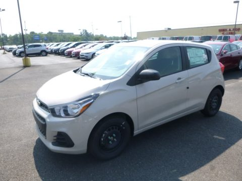 Toasted Marshmallow Metallic Chevrolet Spark LS.  Click to enlarge.