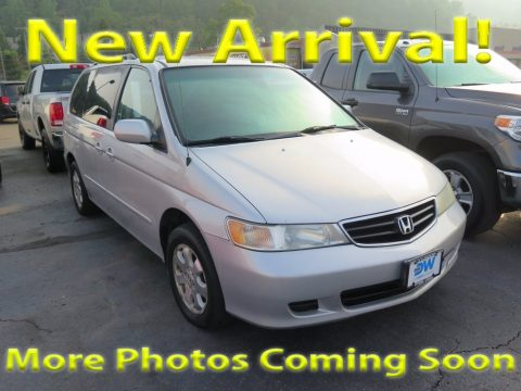 Starlight Silver Metallic Honda Odyssey EX.  Click to enlarge.