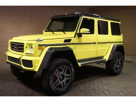 Electric Beam Yellow Mercedes-Benz G 550 4x4 Squared.  Click to enlarge.