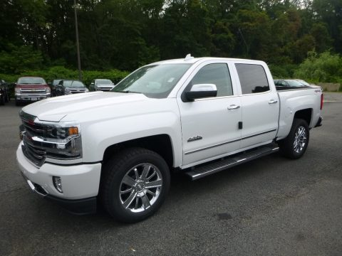 Iridescent Pearl Tricoat Chevrolet Silverado 1500 High Country Crew Cab 4x4.  Click to enlarge.