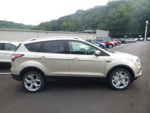 White Gold Ford Escape Titanium 4WD.  Click to enlarge.