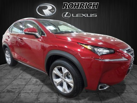 Matador Red Mica Lexus NX 200t AWD.  Click to enlarge.