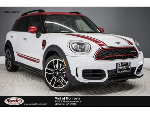 Light White Mini Countryman John Cooperworks ALL4.  Click to enlarge.
