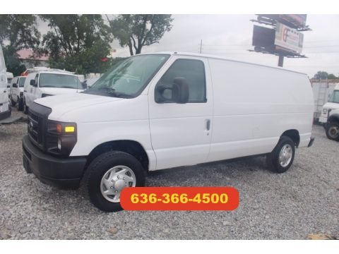 Oxford White Ford E Series Van E150 Cargo.  Click to enlarge.