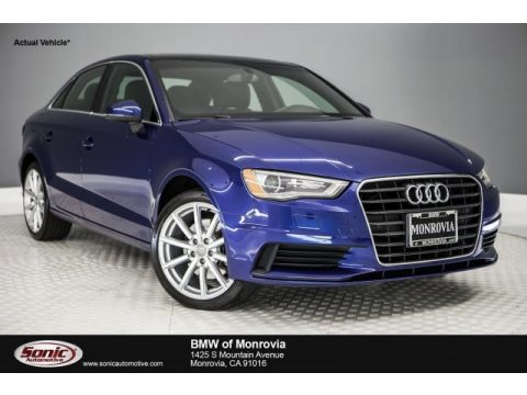 Scuba Blue Metallic Audi A3 1.8 Premium Plus.  Click to enlarge.