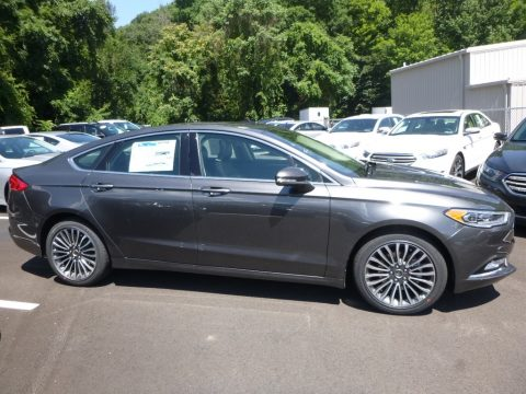 Magnetic Ford Fusion SE.  Click to enlarge.