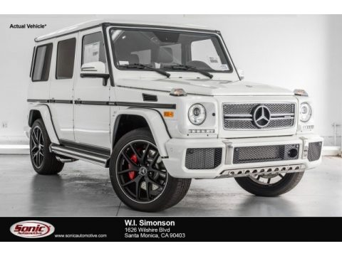 designo Manufaktur Mystic White Mercedes-Benz G 65 AMG.  Click to enlarge.