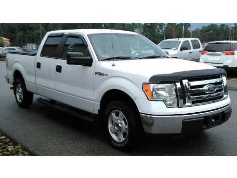 Oxford White Ford F150 XLT SuperCrew.  Click to enlarge.