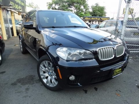 Carbon Black Metallic BMW X5 xDrive50i.  Click to enlarge.