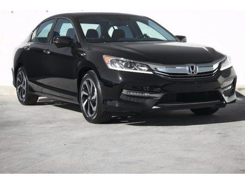 Crystal Black Pearl Honda Accord EX Sedan.  Click to enlarge.