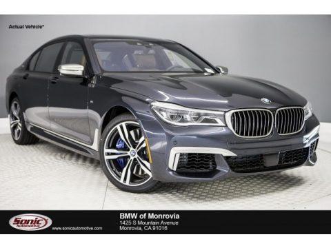 Singapore Gray Metallic BMW 7 Series M760i xDrive Sedan.  Click to enlarge.