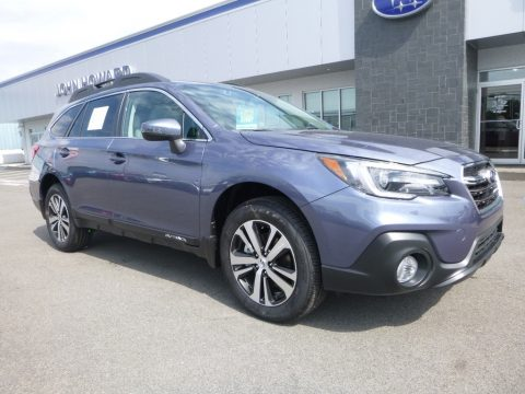 Twilight Blue Metallic Subaru Outback 3.6R Limited.  Click to enlarge.