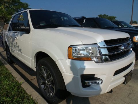 White Platinum Ford Expedition XLT 4x4.  Click to enlarge.