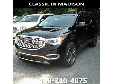 Ebony Twilight Metallic GMC Acadia Denali AWD.  Click to enlarge.