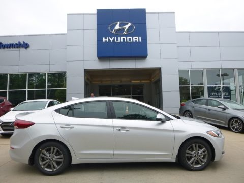 Symphony Silver Hyundai Elantra Value Edition.  Click to enlarge.