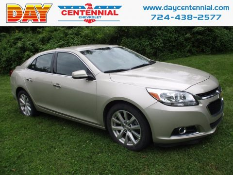 Champagne Silver Metallic Chevrolet Malibu Limited LTZ.  Click to enlarge.