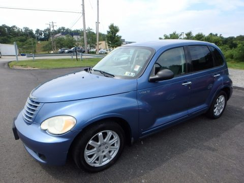 Electric Blue Pearl Chrysler PT Cruiser Touring.  Click to enlarge.