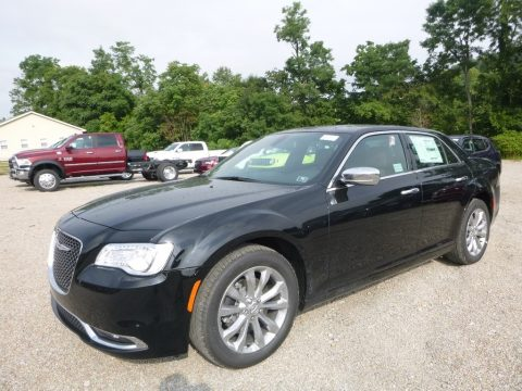 Gloss Black Chrysler 300 Limited AWD.  Click to enlarge.