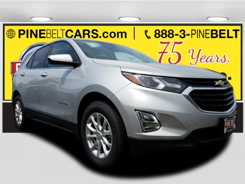 Silver Ice Metallic Chevrolet Equinox LT AWD.  Click to enlarge.