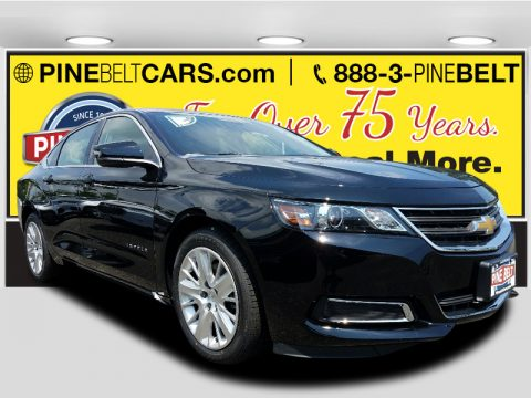 Black Chevrolet Impala LS.  Click to enlarge.