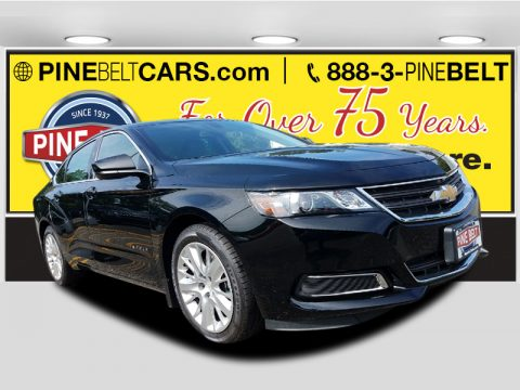 Black Chevrolet Impala LS.  Click to enlarge.