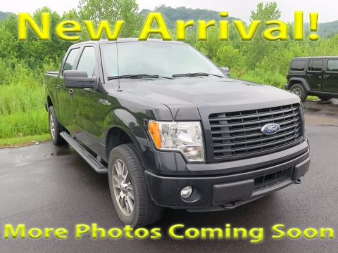 Tuxedo Black Ford F150 STX SuperCrew 4x4.  Click to enlarge.