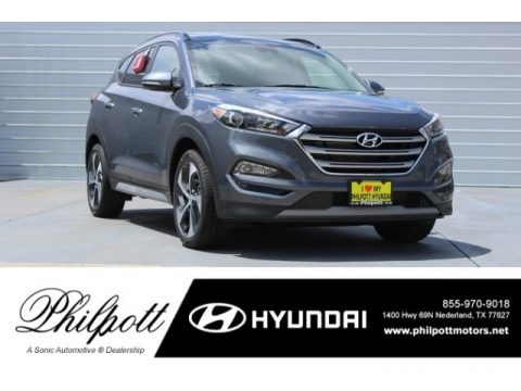 Coliseum Gray Hyundai Tucson Limited.  Click to enlarge.