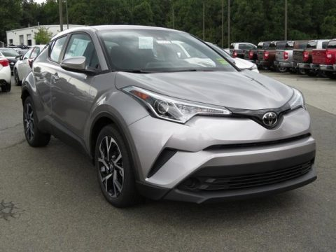 Silver Knockout Metallic Toyota C-HR XLE.  Click to enlarge.