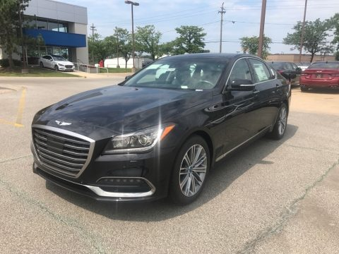Victoria Black Hyundai Genesis G80 AWD.  Click to enlarge.