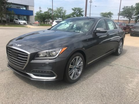 Himalayan Gray Hyundai Genesis G80 AWD.  Click to enlarge.