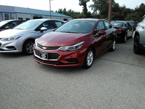 Cajun Red Tintcoat Chevrolet Cruze LT.  Click to enlarge.