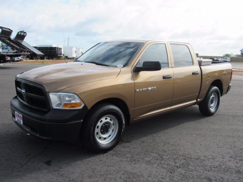 Tequila Sunrise Pearl Dodge Ram 1500 ST Crew Cab.  Click to enlarge.
