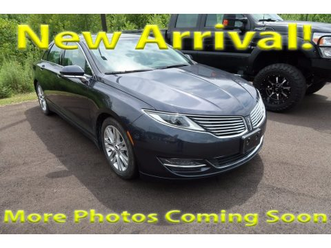 Sterling Gray Lincoln MKZ FWD.  Click to enlarge.