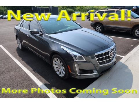 Phantom Gray Metallic Cadillac CTS Luxury Sedan AWD.  Click to enlarge.