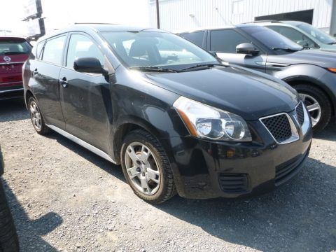 Jet Black Metallic Pontiac Vibe 2.4 AWD.  Click to enlarge.