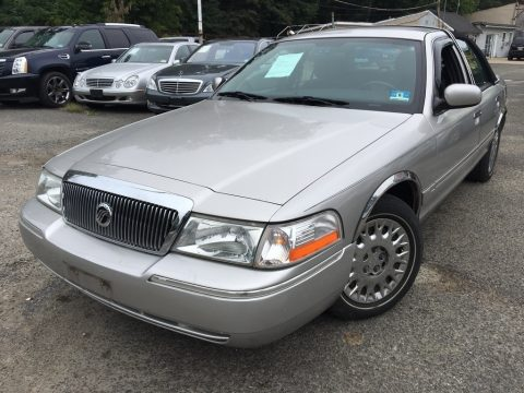 Silver Frost Metallic Mercury Grand Marquis GS.  Click to enlarge.