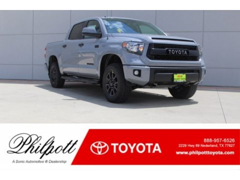 Cement Toyota Tundra TRD PRO CrewMax 4x4.  Click to enlarge.