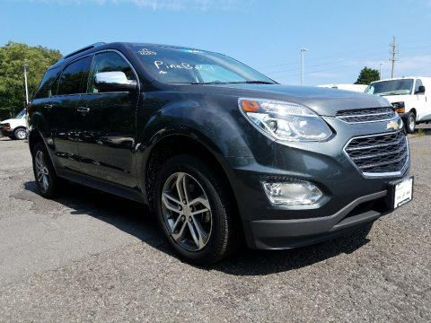 Nightfall Gray Metallic Chevrolet Equinox Premier AWD.  Click to enlarge.