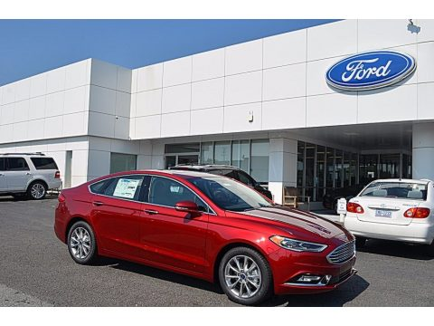 Ruby Red Ford Fusion SE.  Click to enlarge.