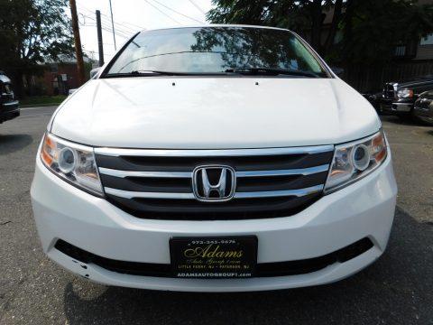 Taffeta White Honda Odyssey EX-L.  Click to enlarge.