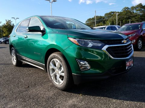 Ivy Metallic Chevrolet Equinox LT.  Click to enlarge.