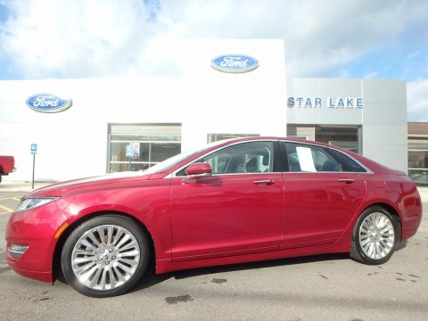 Ruby Red Lincoln MKZ 2.0L EcoBoost AWD.  Click to enlarge.