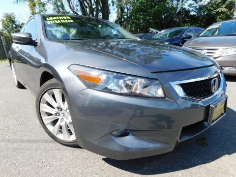 Polished Metal Metallic Honda Accord EX-L V6 Coupe.  Click to enlarge.